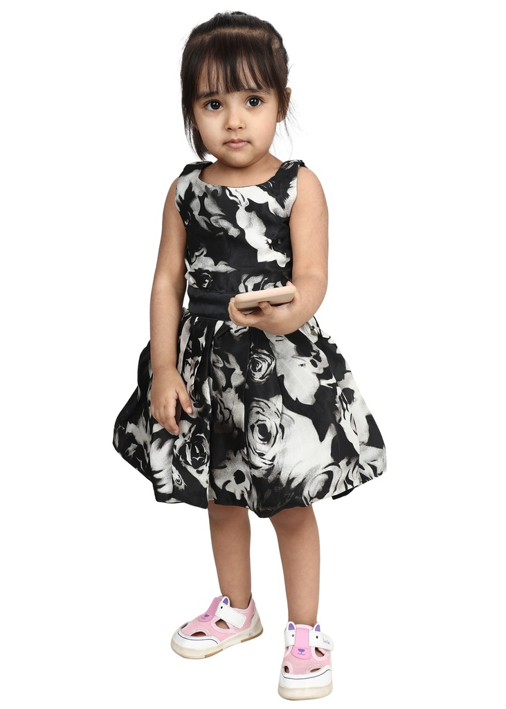 Wear We Met - Girls Fit and Flare Dress
